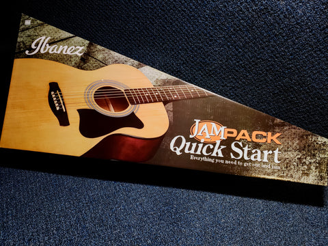 NEW Ibanez Quick Start Jam Pack - Acoustic Guitar