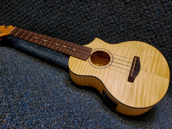 NEW Ibanez UEW12E-OPN Acoustic/Electric Ukulele