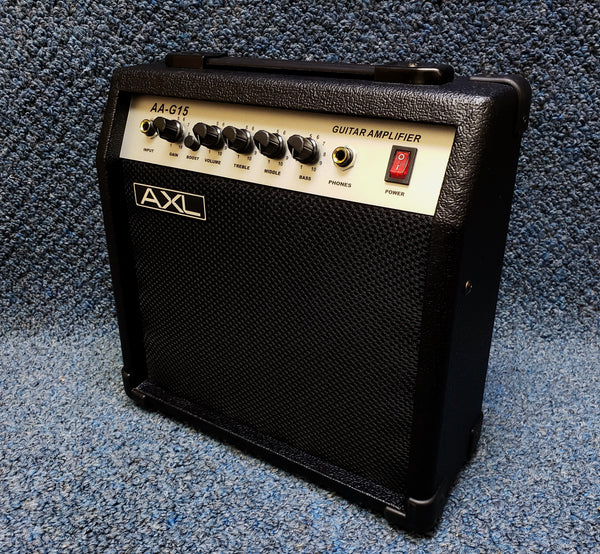 New AXL 15W Amp Electric Combo AA-G15 Guitar Amplifier