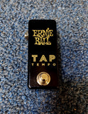 NEW Ernie Ball Tap Tempo Pedal