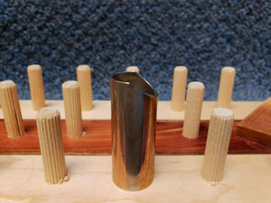 "NEW Aged Nickel ""Rock Slides by Songhurst"" Guitar Slide"