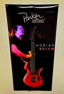 NEW Parker Guitars Poster, 6-Foot Tall - Feat. Adrian Belew