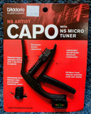 NEW D'Addario NS Artist Capo with NS Micro Tuner - by Planet Waves