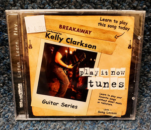 "NEW Learn Guitar for ""Breakaway"" by Kelly Clarkson - Play It Now Tunes CD"