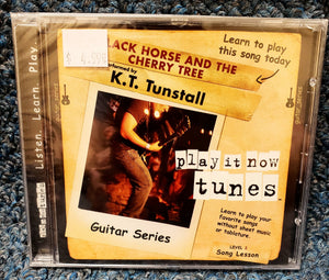 "NEW Learn Guitar for ""Black Horse and the Cherry Tree"" by KT Tunstall - Play It Now Tunes CD"