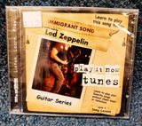 "NEW Learn Guitar for ""Immigrant Song"" by Led Zeppelin - Play It Now Tunes CD"