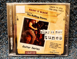 "NEW Learn Guitar for ""Paint It Black"" by Rolling Stones - Play It Now Tunes CD"