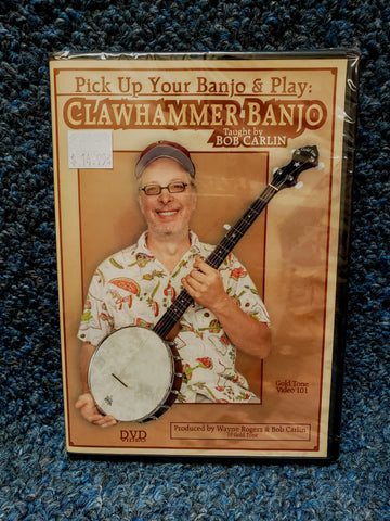 NEW Pick Up Your Banjo & Play: Clawhammer Banjo - Instructional DVD
