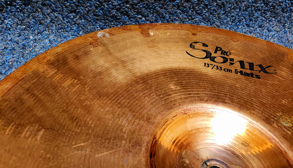"Sabian Pro Sonix 13"" Hi Hat Cymbal - Bottom only"
