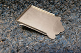 NEW Mandolin Tailpiece - Stainless Steel