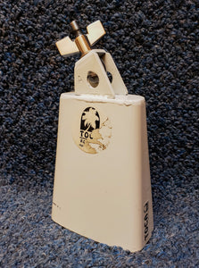 "Toca 5"" High-Pitch White Cowbell - Model 4424"