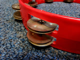 "Rhythm Tech ""True Colors"" Tambourine - Red"
