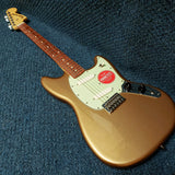 NEW Fender Player Series Mustang Electric Guitar - Firemist Gold