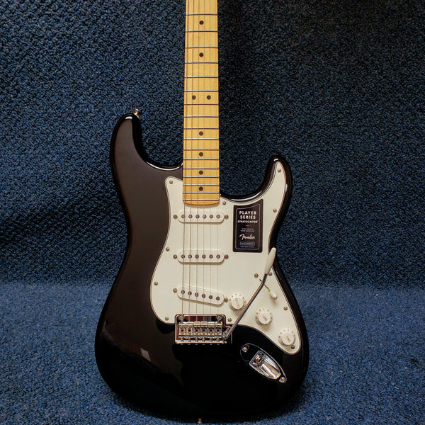 NEW Fender Player Series Stratocaster - Black Electric Guitar