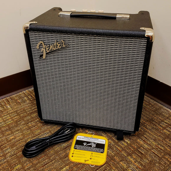 NEW Fender Rumble 25 - Electric Bass Guitar Combo Amplifier - 25 watts