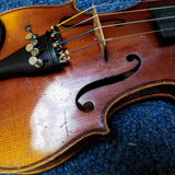 German Stradivarius Copy - 1/4 Size Violin w/ Case