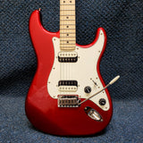 NEW Fender Squier Contemporary Strat HH Electric Guitar - Dark Metallic Red