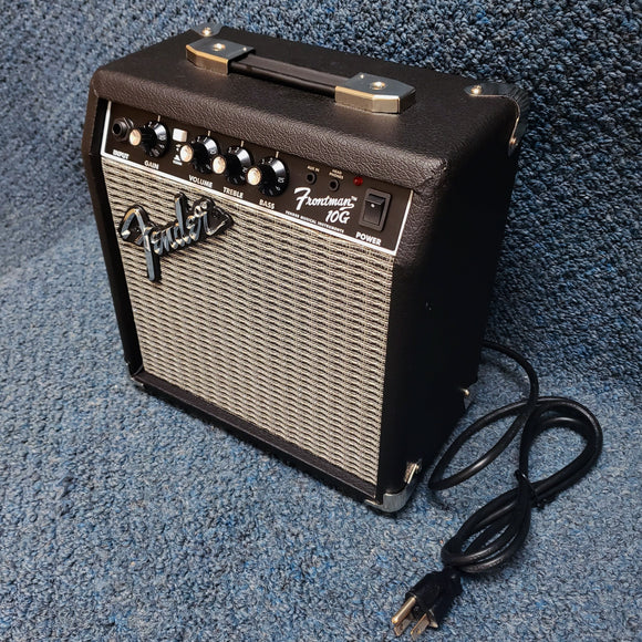 NEW Fender Frontman 10G - 10 Watt Combo Guitar Amplifier