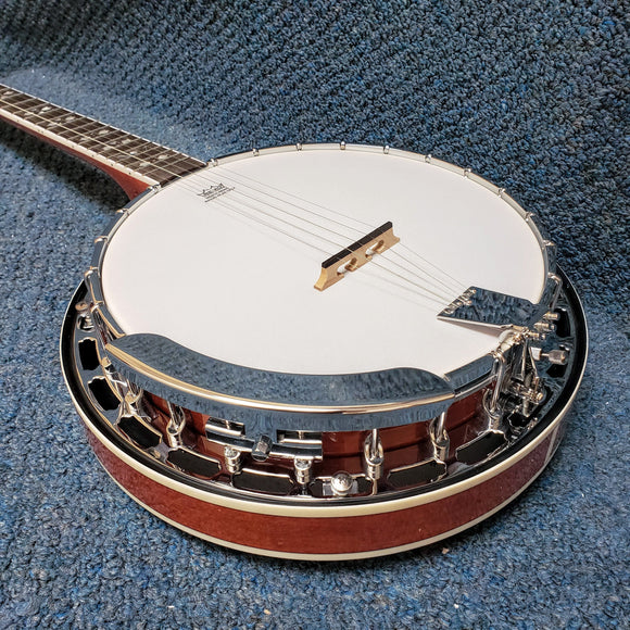NEW Recording King Songster RKR20 Resonator Banjo (B Stock)