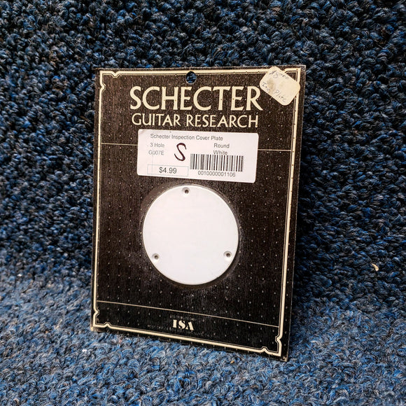 New Schecter 3-Hole Inspection Cover Plate for Guitar