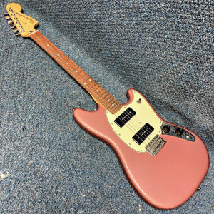 NEW Fender Player Mustang 90 Electric Guitar Burguny Mist Metallic