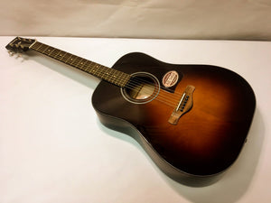New Ibanez AW4000-BS Acoustic Guitar