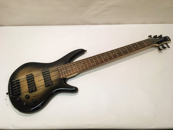 NEW Ibanez GIO GSR206SM-NGT Electric Bass Guitar