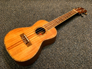 NEW Amahi UK660C Concert Koa Wood Ukulele Uke With Bag and Pick