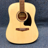 NEW Ibanez PF15-NT Acoustic Dreadnought Guitar Natural w/ Bag and Accessories