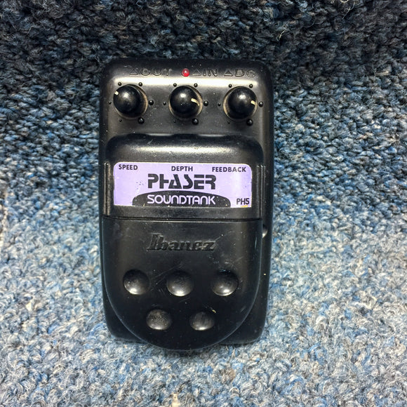 Ibanez Soundtank Phaser Guitar Effects Pedal MIJ