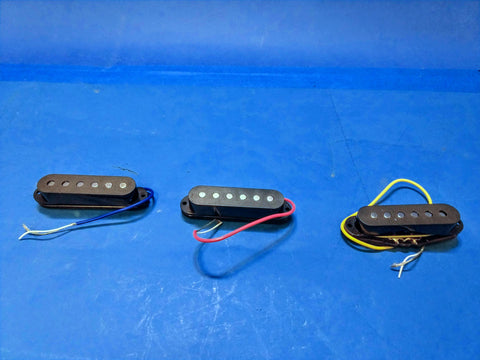 NEW S Guitar Pickup Set 3 Single Coil Set Black