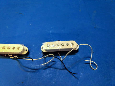 NEW S Guitar Pickup 3 Single Coil Set White