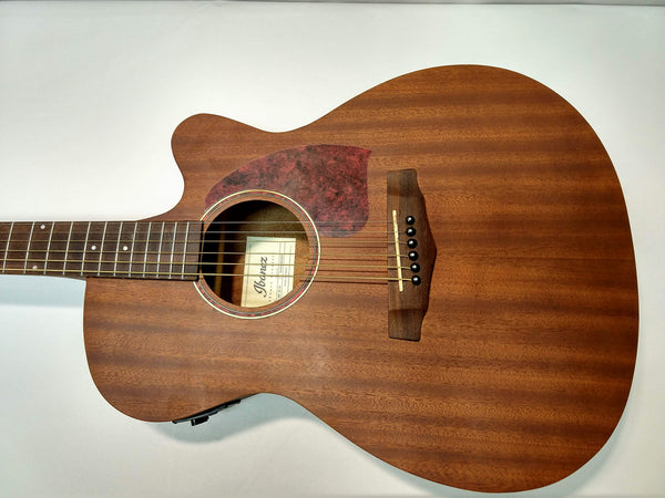 Ibanez PC12MHCE-OPN Cutaway Acoustic Electric Guitar Mahogany