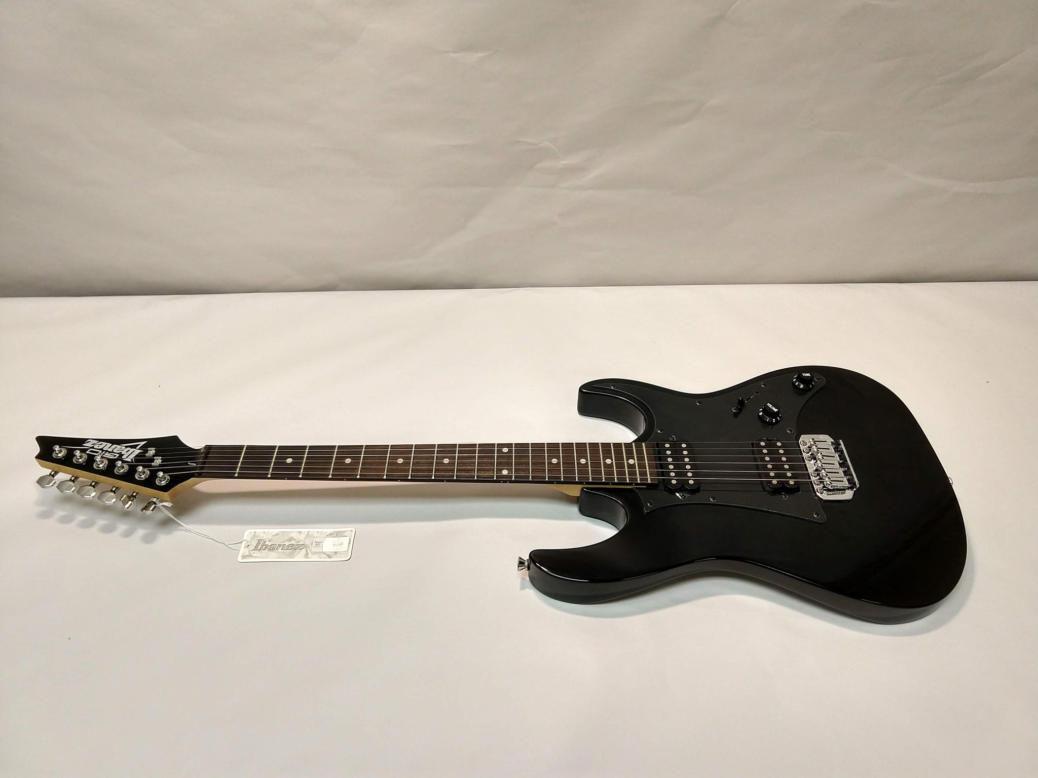NEW Ibanez GRX20Z-BKN Electric Guitar Black Night