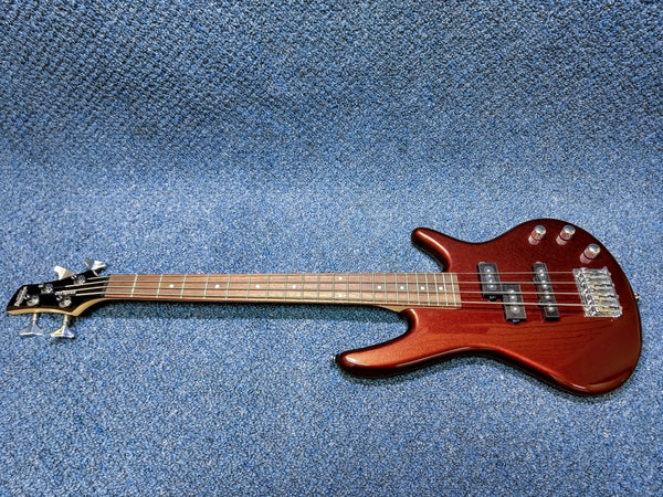 NEW Gio Ibanez GSRM20-RBM miKro micro Short Scale 4 String Electric Bass Root Beer