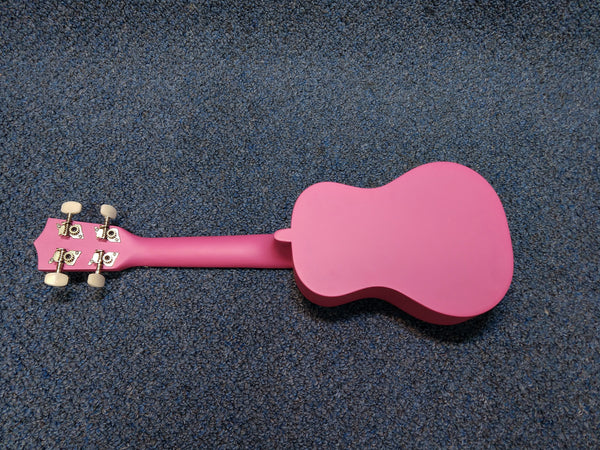 NEW Amahi Penguin PGUKPI Soprano Pink Ukulele Uke With Bag