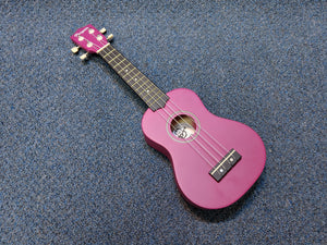 NEW Amahi Penguin PGUKPU Soprano Purple Ukulele W/ Bag