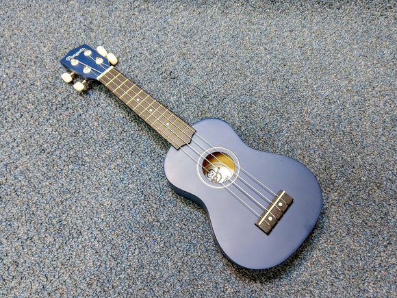 NEW Amahi Penguin PGUKDB Soprano Dark Blue Ukulele w/ Cover