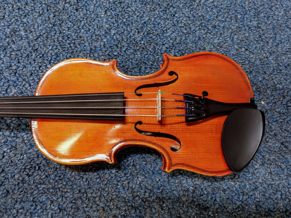 Purfling P120VN Auditorium 1/10 Size Violin With Case, Bow, and Rosin