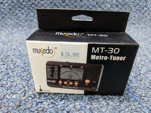 NEW Musedo MT-30 Metro-Tuner Black