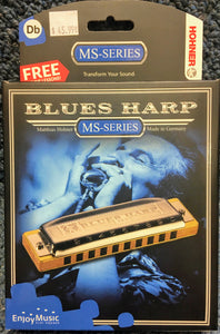 New Hohner Blues Harp Db Harmonica
