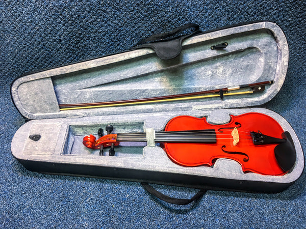 "New 14"" Purfling Viola Studio P110VA14 w/Case, Bow, and Rosin"