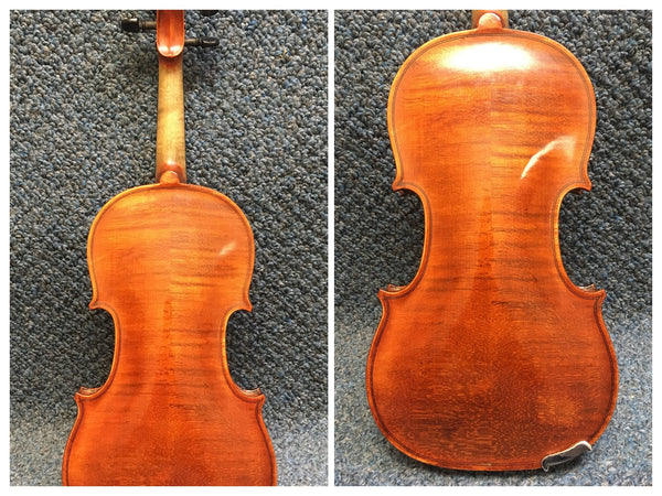 Rudoulf Doetsch 1/4 Size Violin With Case and Bow