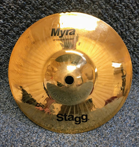 "NEW Stagg Myra 8"" Splash Cymbal."