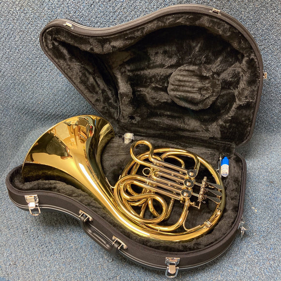 NEW John Packer JP165 Single French Horn w/ Case, Valve Oil and Mouthpiece