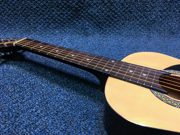 "NEW Stadium Kid Size Acoustic Guitar 30"", Natural Finish"