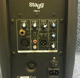 NEW Stagg PMS8 Powered Speaker Bluetooth