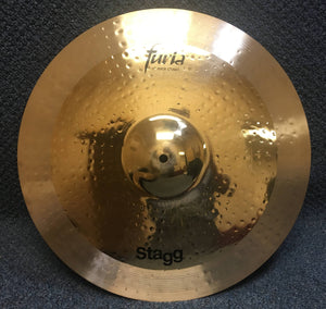 "NEW Stagg Furia 19"" Rock Crash Brilliant"