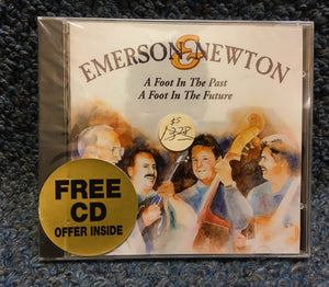 "NEW Emerson & Newton CD - ""A Foot in the Past, A Foot in the Future"""