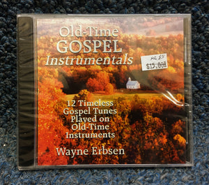 "NEW Wayne Erbsen CD - ""Old-Time Gospel Instrumentals"""